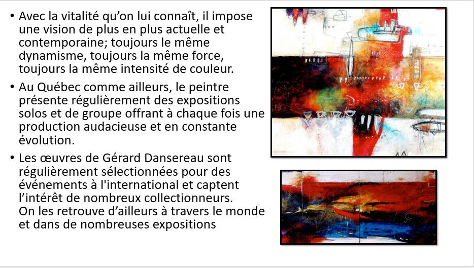 À la manière de Gérard Dansereau (peinture et texture) Danser33