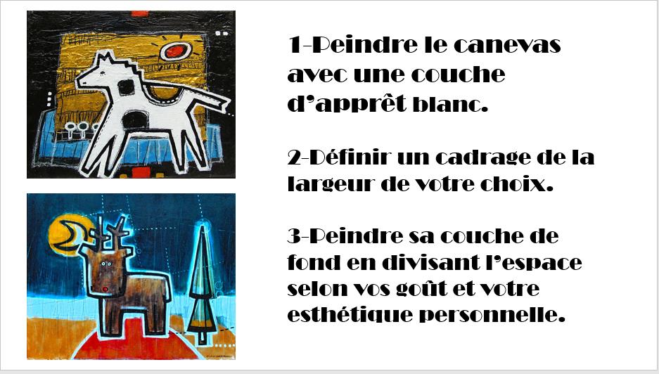 À la manière de Gérard Dansereau (peinture et texture) Danser37