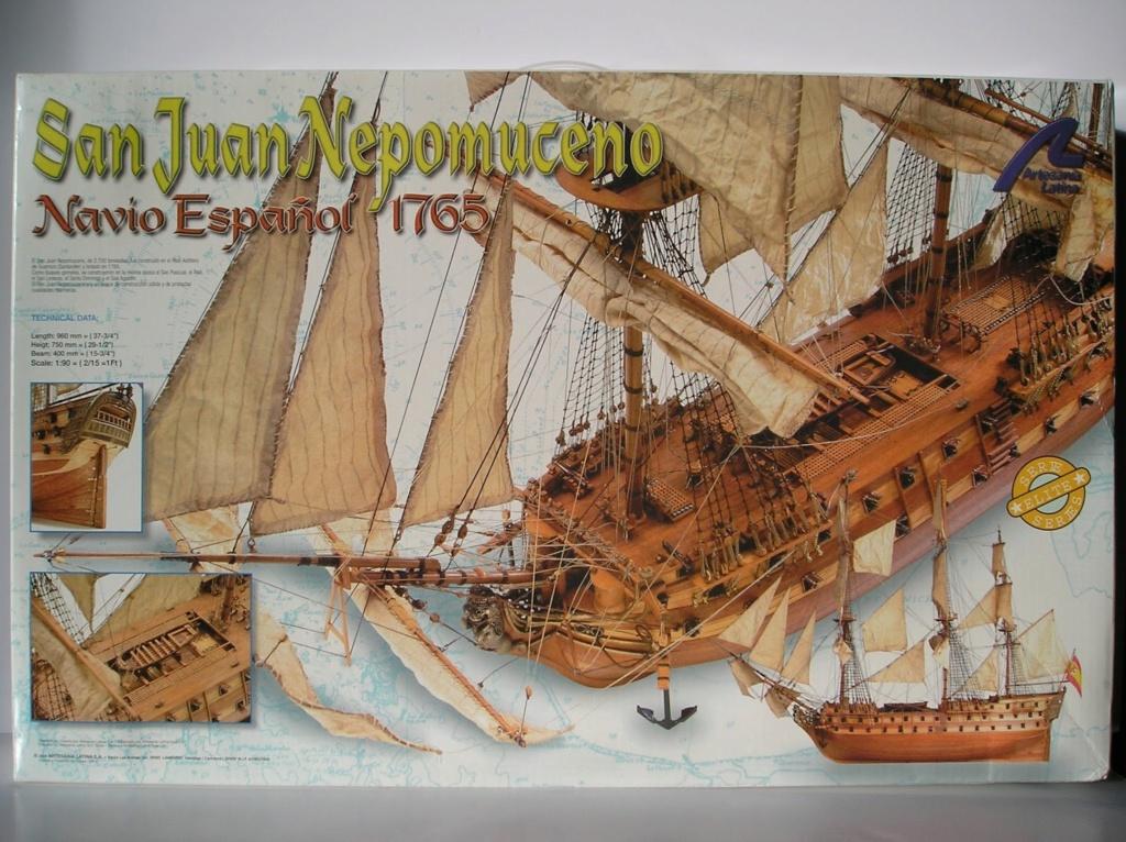 Vends San Juan Nepomuceno - Artesania Latina - 1/90 P1010010