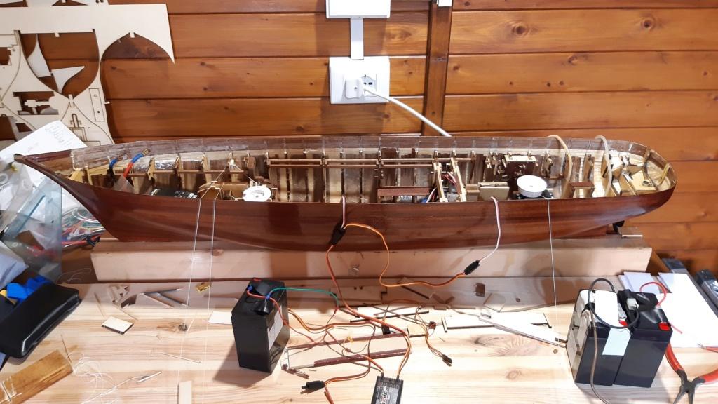 costruzione di goletta, liberamente ispirata a piroscafo cannoniera del XIX secolo - Pagina 9 20200416