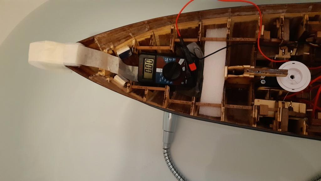 costruzione - costruzione di goletta, liberamente ispirata a piroscafo cannoniera del XIX secolo - Pagina 12 20200617