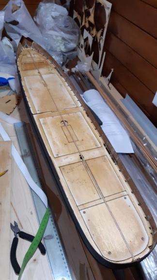costruzione - costruzione di goletta, liberamente ispirata a piroscafo cannoniera del XIX secolo - Pagina 14 20200816