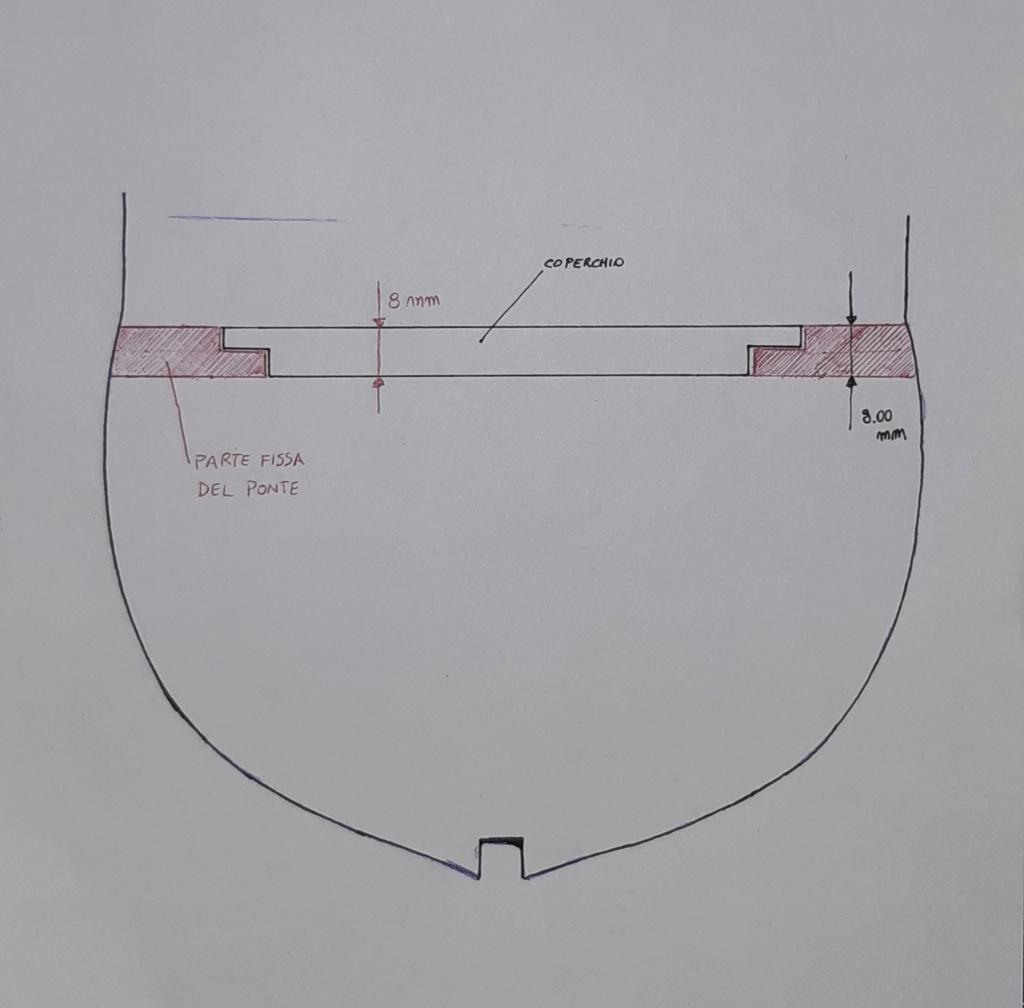 vele - costruzione di goletta, liberamente ispirata a piroscafo cannoniera del XIX secolo - Pagina 13 20200910