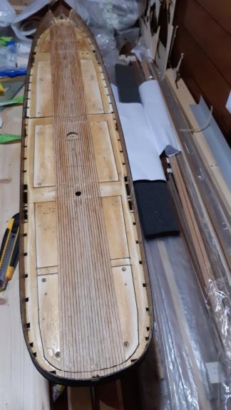 costruzione - costruzione di goletta, liberamente ispirata a piroscafo cannoniera del XIX secolo - Pagina 14 20200914