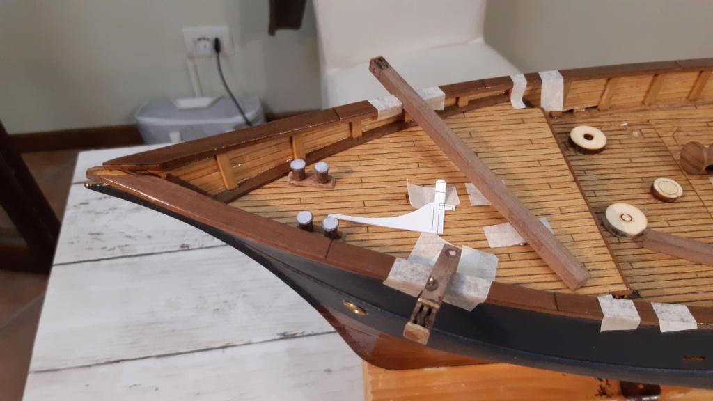 costruzione di goletta, liberamente ispirata a piroscafo cannoniera del XIX secolo - Pagina 19 20210816