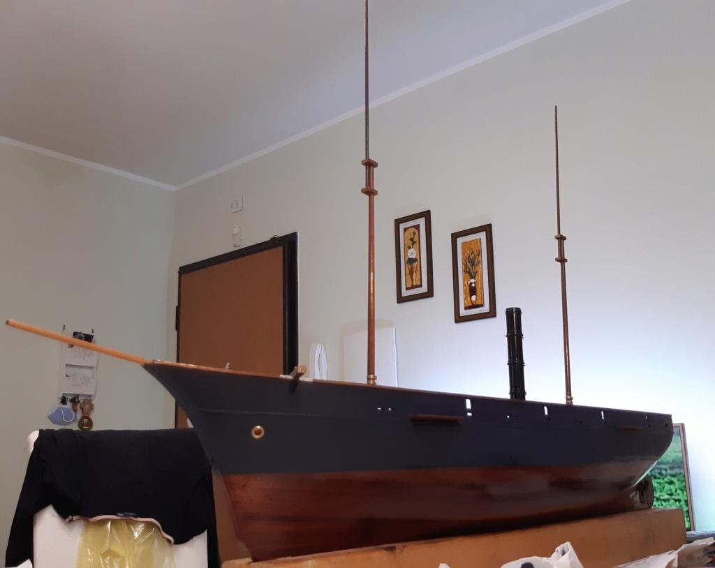costruzione di goletta, liberamente ispirata a piroscafo cannoniera del XIX secolo - Pagina 19 20210913