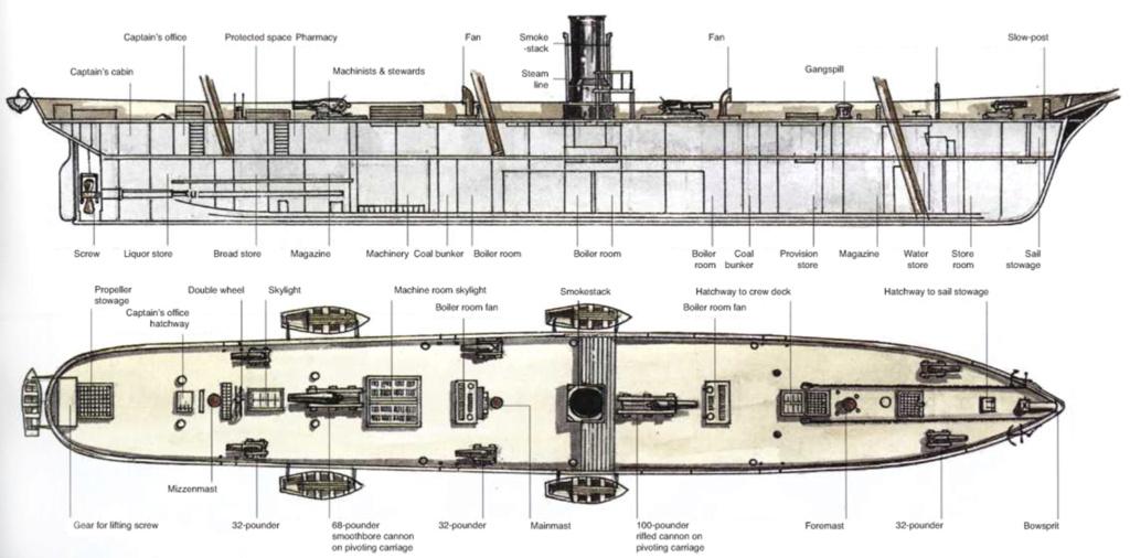 costruzione di goletta, liberamente ispirata a piroscafo cannoniera del XIX secolo - Pagina 17 Alabam12