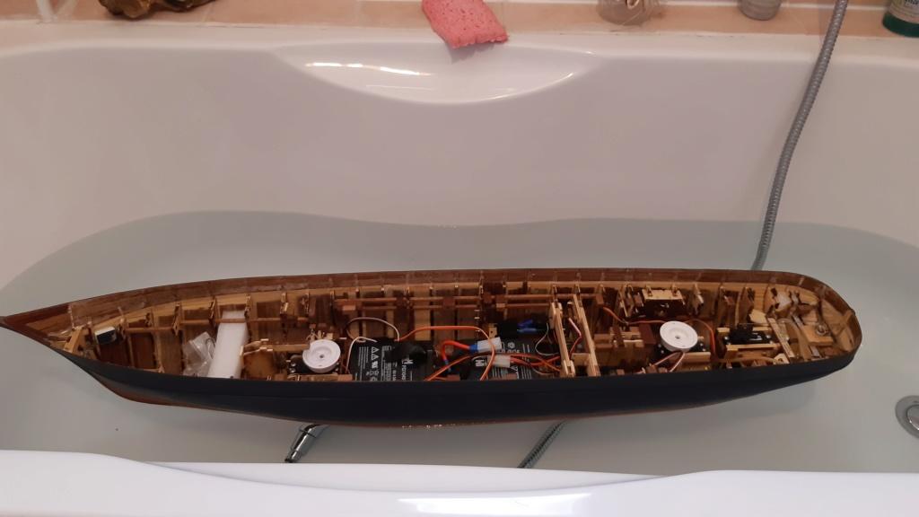 costruzione - costruzione di goletta, liberamente ispirata a piroscafo cannoniera del XIX secolo - Pagina 12 Infilt10