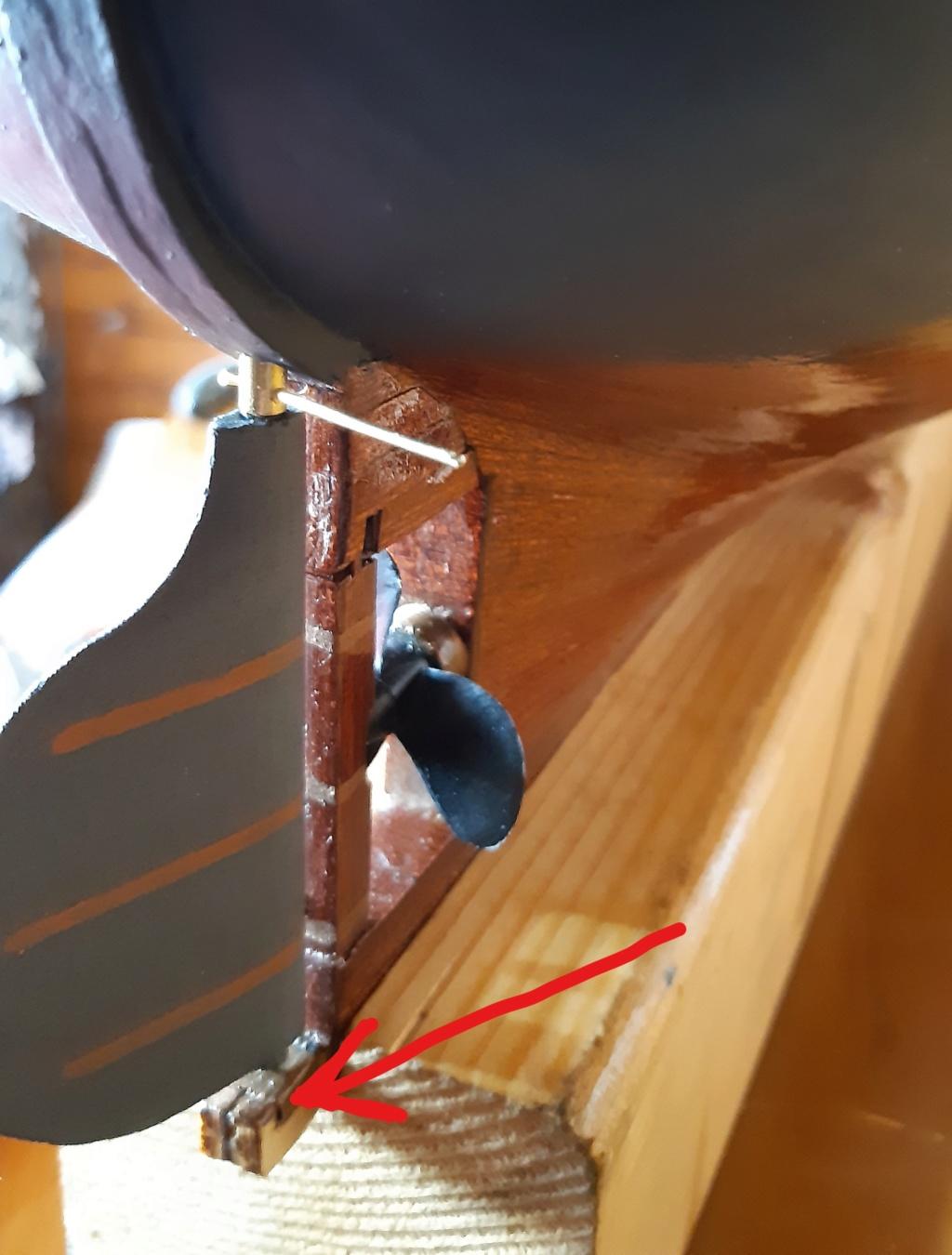 costruzione - costruzione di goletta, liberamente ispirata a piroscafo cannoniera del XIX secolo - Pagina 12 Inked219