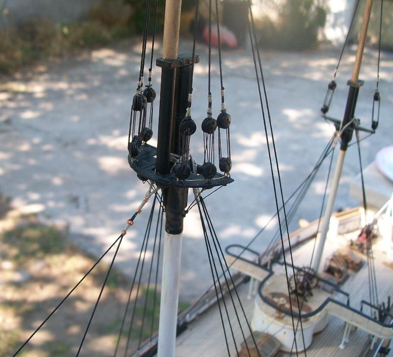vele - costruzione di goletta, liberamente ispirata a piroscafo cannoniera del XIX secolo - Pagina 13 Mariap10