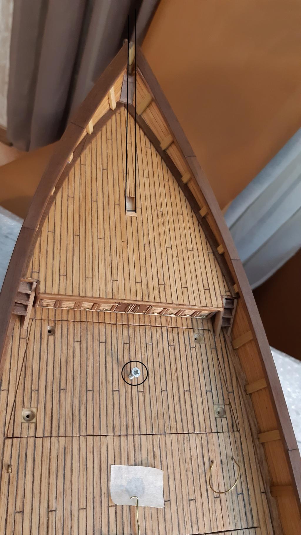 costruzione di goletta, liberamente ispirata a piroscafo cannoniera del XIX secolo - Pagina 17 Prova110