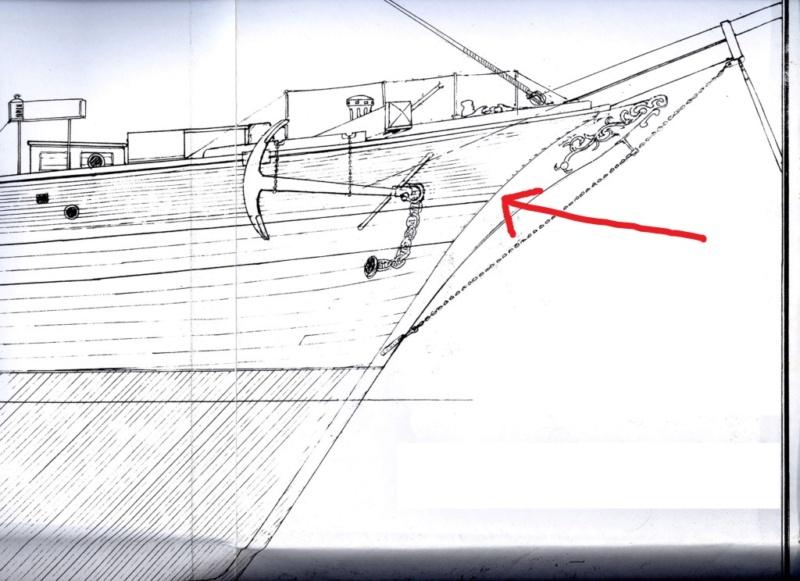 costruzione di goletta, liberamente ispirata a piroscafo cannoniera del XIX secolo - Pagina 17 Prua_c10