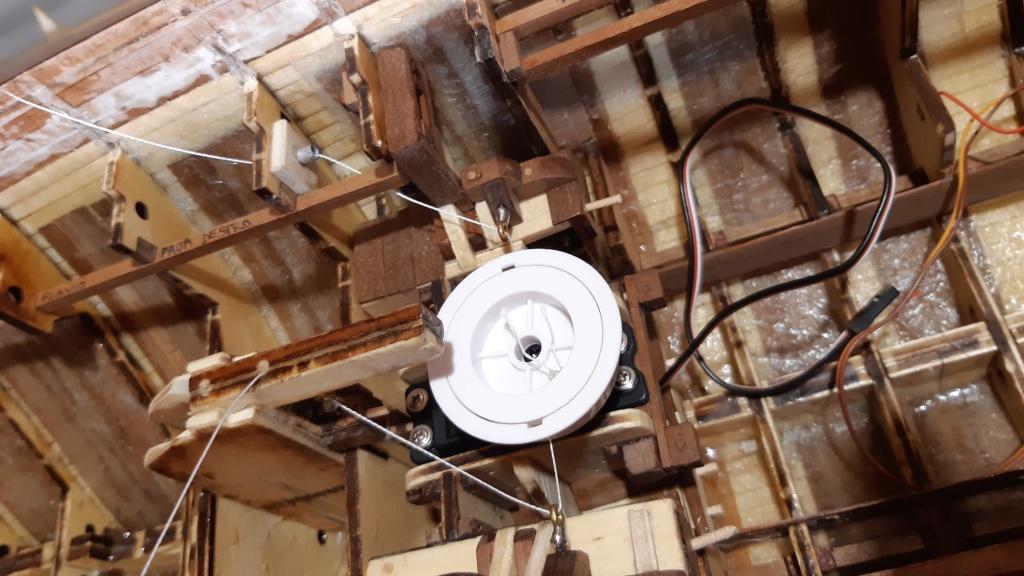 costruzione di goletta, liberamente ispirata a piroscafo cannoniera del XIX secolo - Pagina 9 Prua_i10