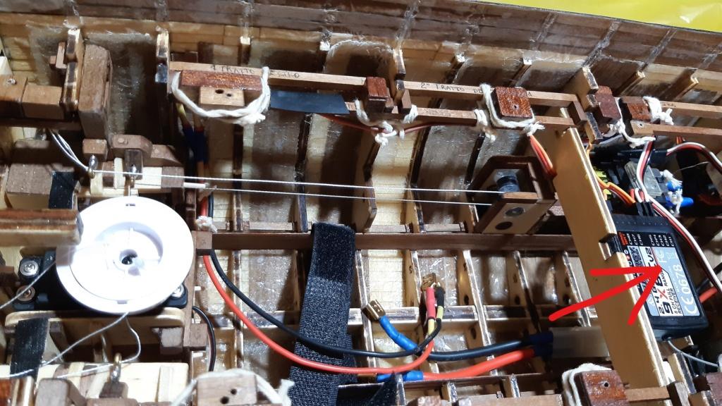 vele - costruzione di goletta, liberamente ispirata a piroscafo cannoniera del XIX secolo - Pagina 13 Rivece10