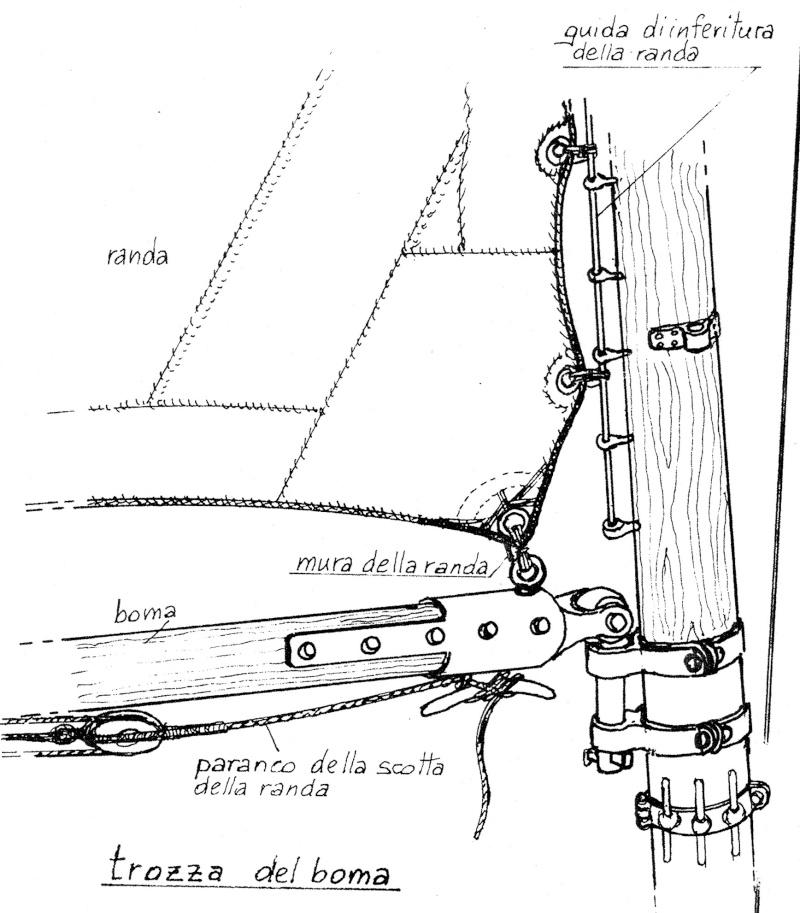vele - costruzione di goletta, liberamente ispirata a piroscafo cannoniera del XIX secolo - Pagina 13 Trozza10