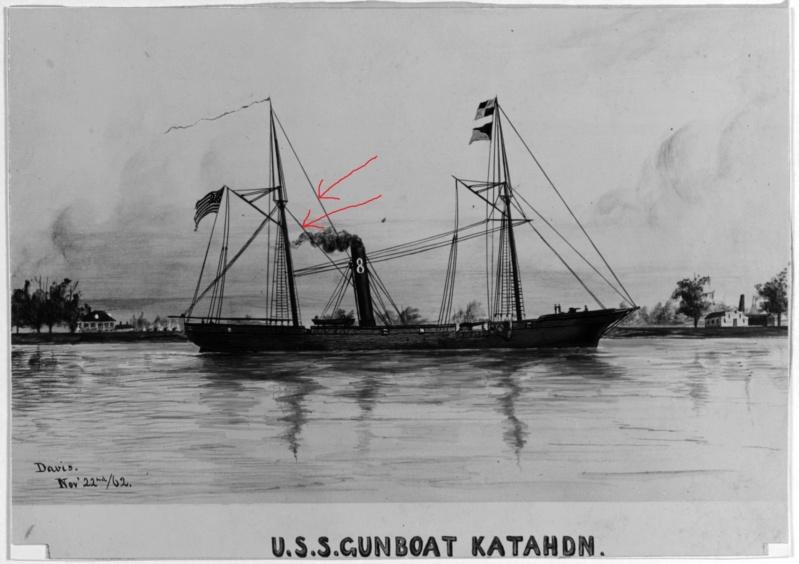 vele - costruzione di goletta, liberamente ispirata a piroscafo cannoniera del XIX secolo - Pagina 16 Uss_ka10