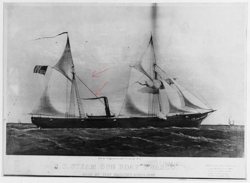 vele - costruzione di goletta, liberamente ispirata a piroscafo cannoniera del XIX secolo - Pagina 16 Uss_ow10