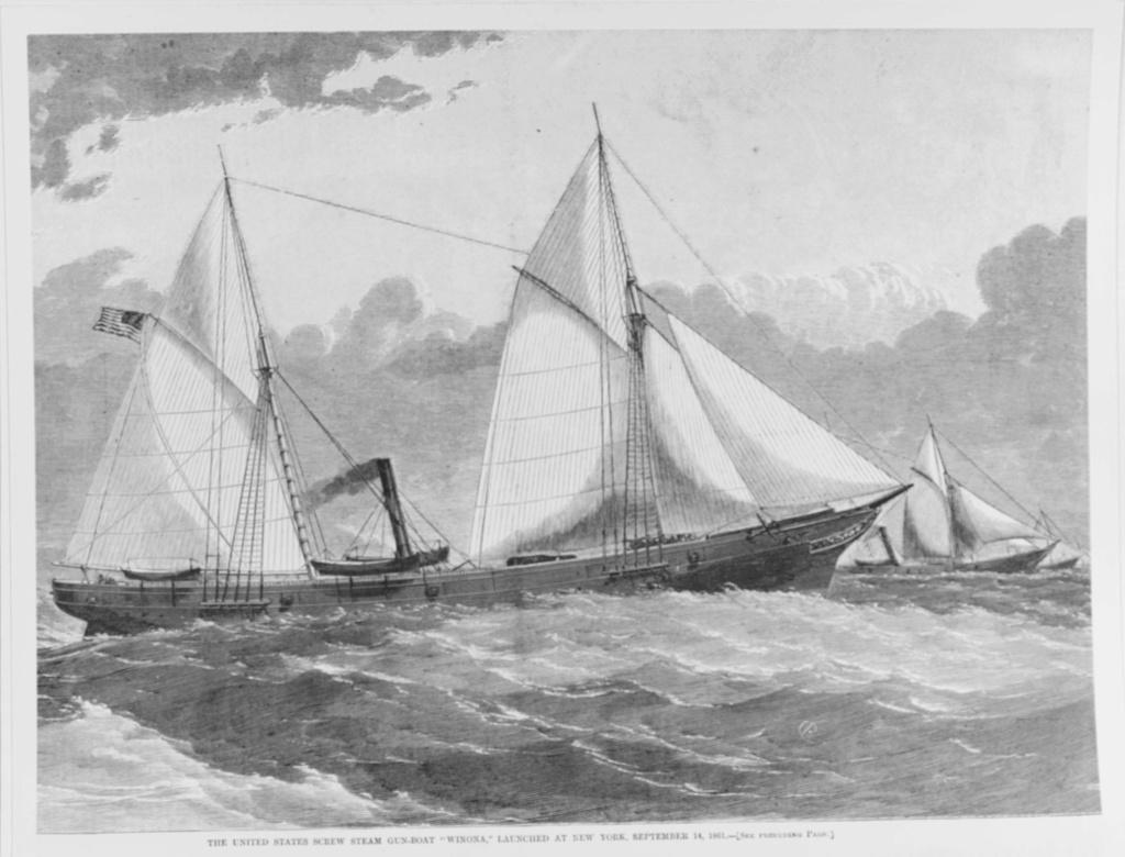 costruzione di goletta, liberamente ispirata a piroscafo cannoniera del XIX secolo - Pagina 8 Uss_wi11