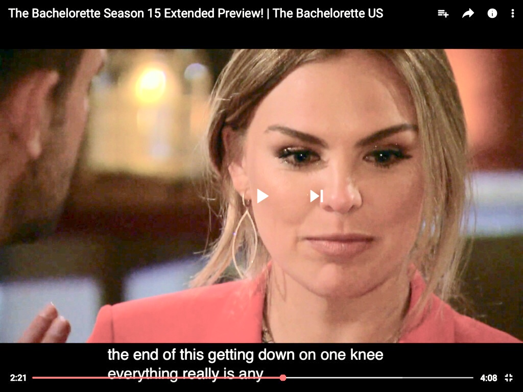 Bachelorette 15 - Hannah Brown - ScreenCaps - *Sleuthing Spoilers* -  - Page 7 13525210