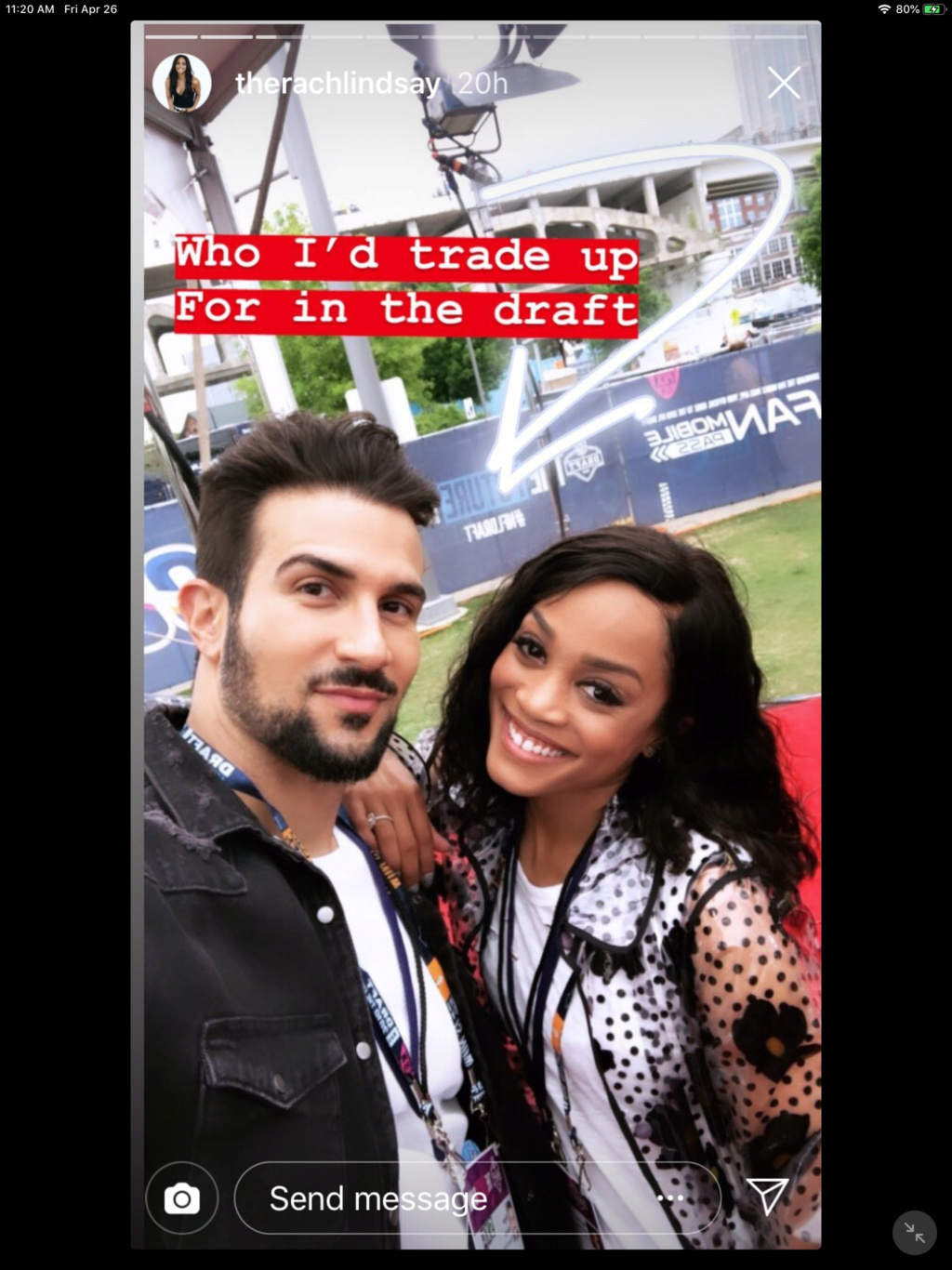 Rachel Lindsay & Bryan Abasolo - FAN Forum - Discussion #7  - Page 28 51bbe410