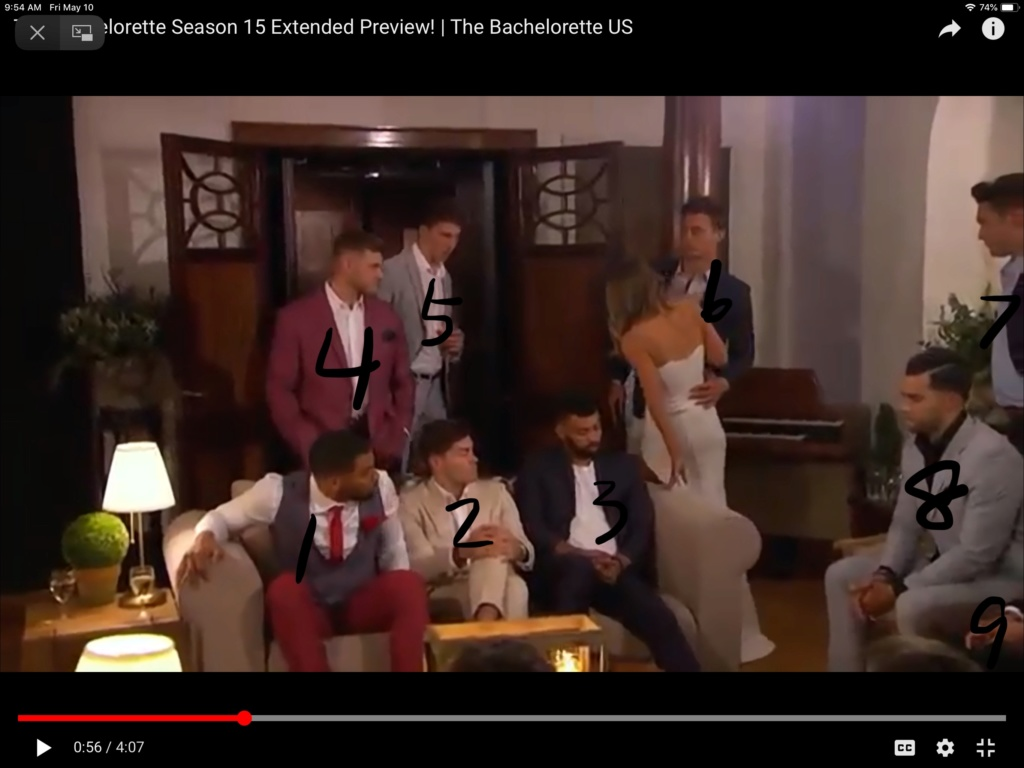 Bachelorette 15 - Hannah Brown - ScreenCaps - *Sleuthing Spoilers* -  - Page 21 9600a110