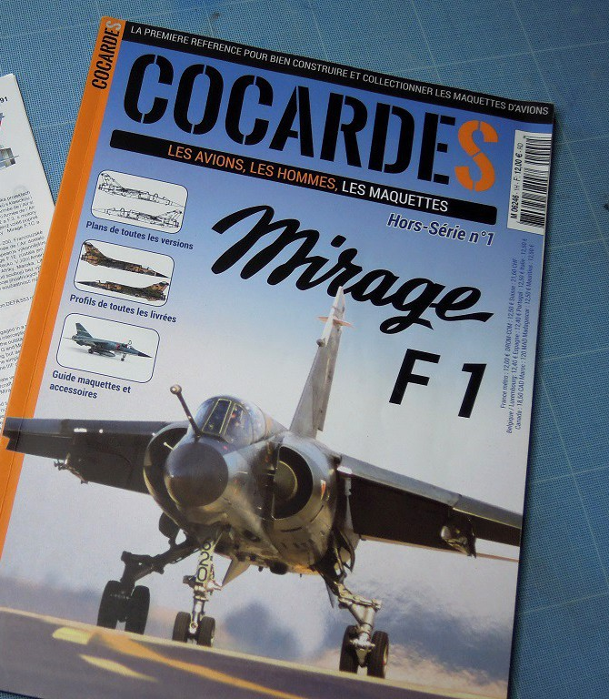 Mirage F-1 CR - Special Hobby - 1/72 - FRANCE 1980 A1_cop10