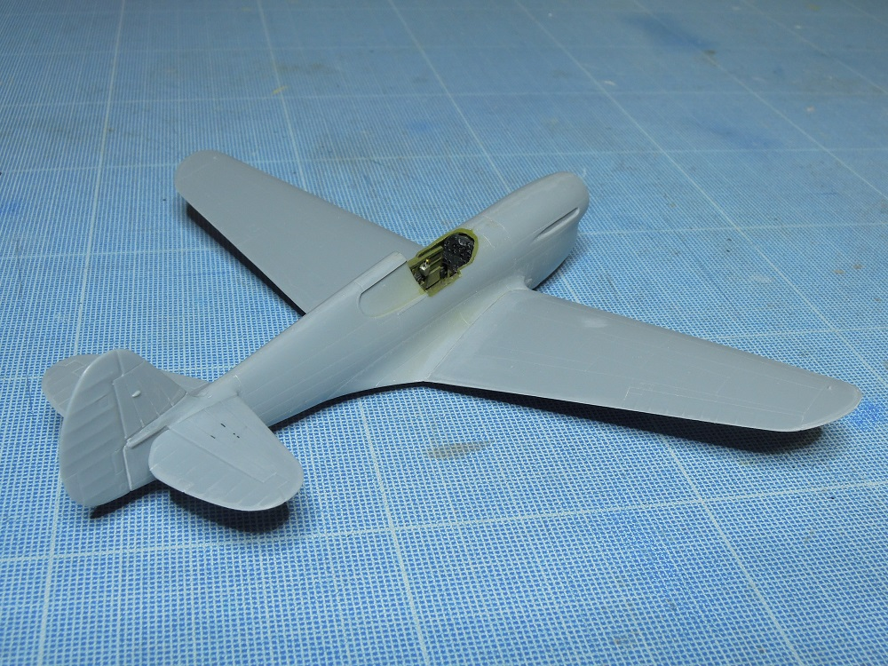 P-40F -  1/72 Special Hobby - Tunisie 1943 B611