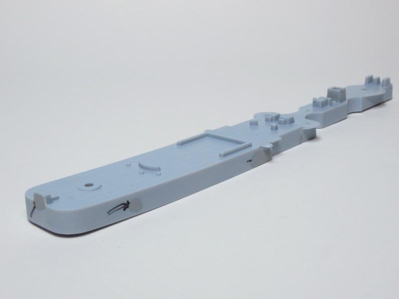 L'ALSACIEN Escorteur-rapide - 1/400 Heller + kit l'Arsenal B715
