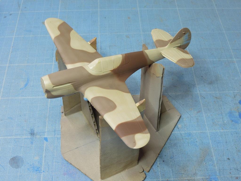 P-40F -  1/72 Special Hobby - Tunisie 1943 C1210