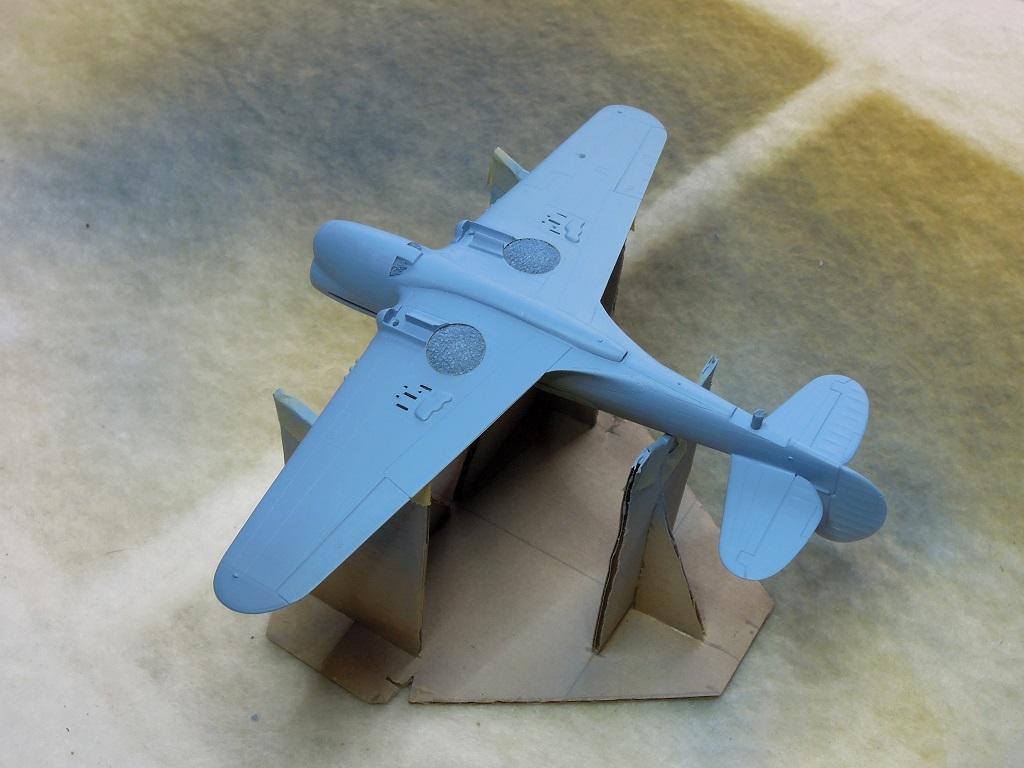 P-40F -  1/72 Special Hobby - Tunisie 1943 C312