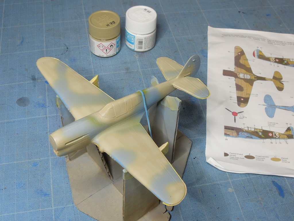 P-40F -  1/72 Special Hobby - Tunisie 1943 C612