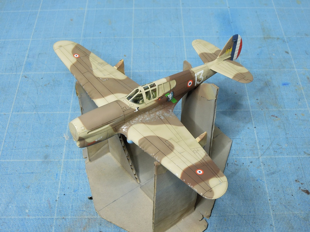P-40F -  1/72 Special Hobby - Tunisie 1943 D1111