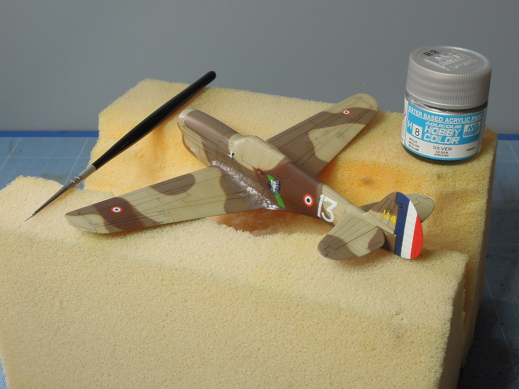 P-40F -  1/72 Special Hobby - Tunisie 1943 D611