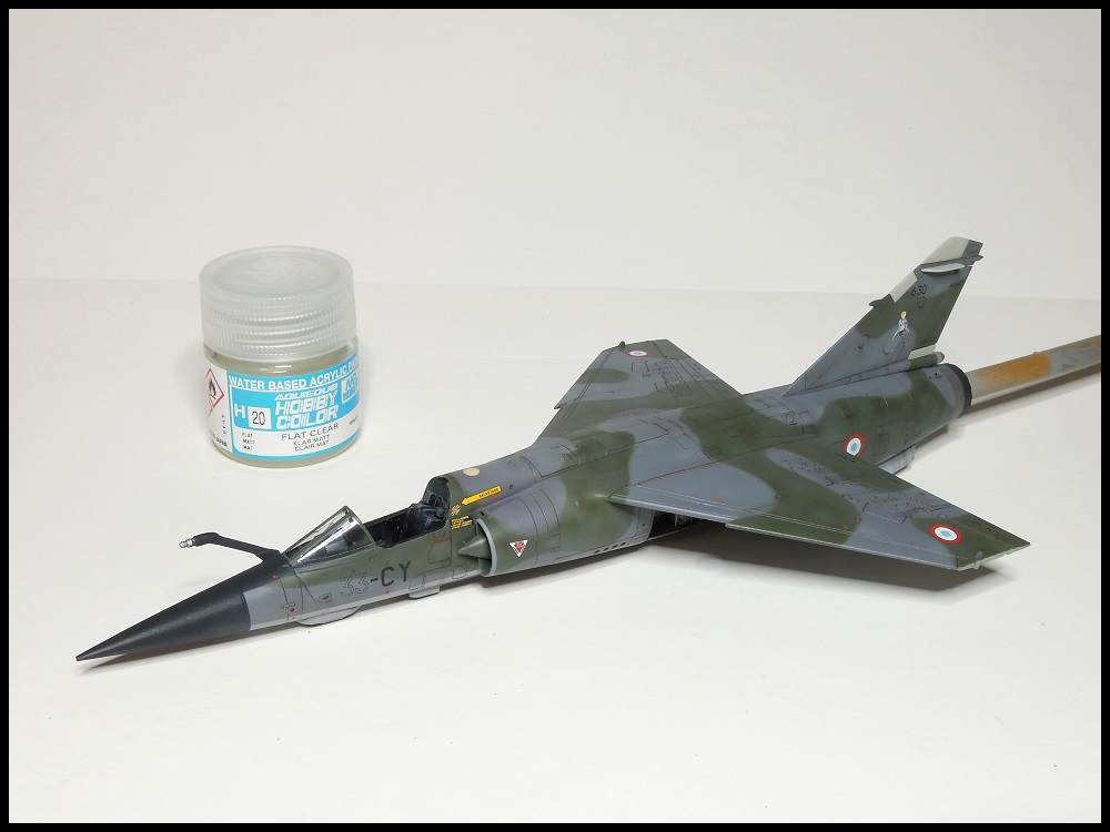 Mirage F-1 CR - Special Hobby - 1/72 - FRANCE 1980 Dscn2211