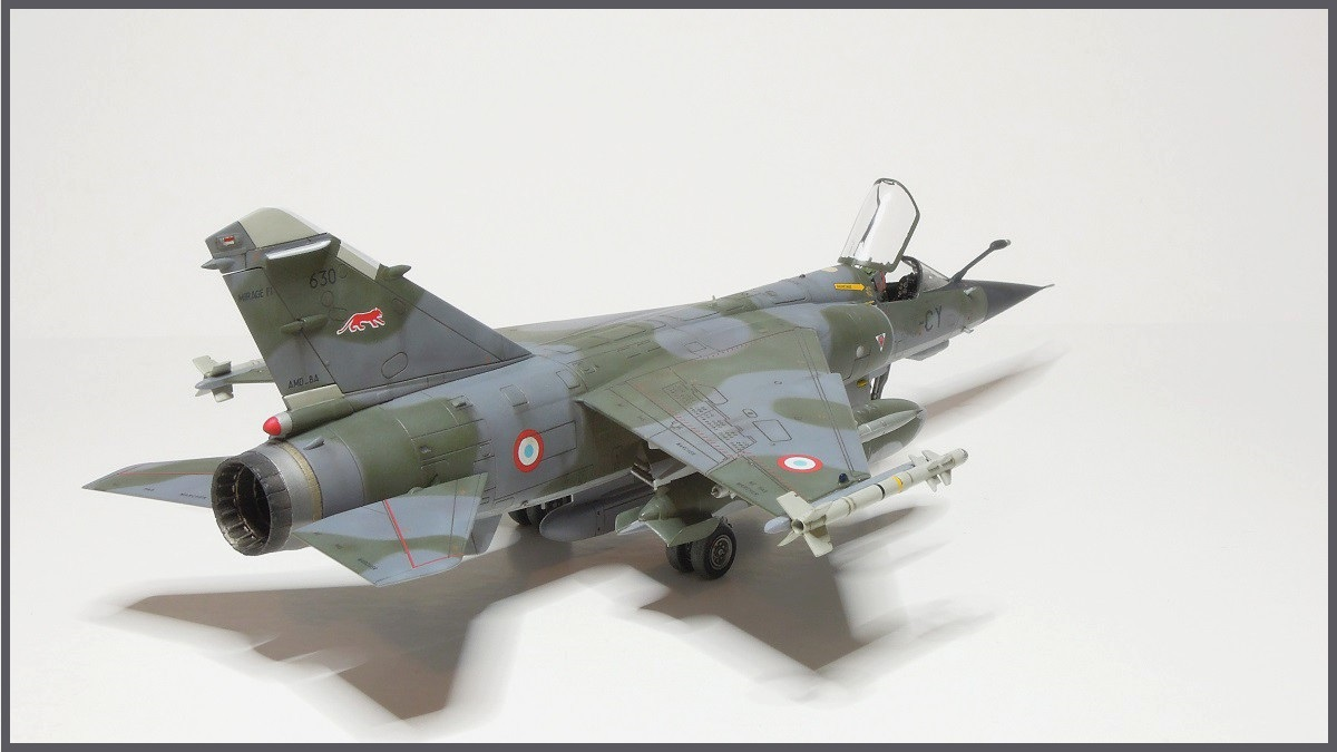 Mirage F-1 CR - Special Hobby - 1/72 - FRANCE 1980 Dscn2510