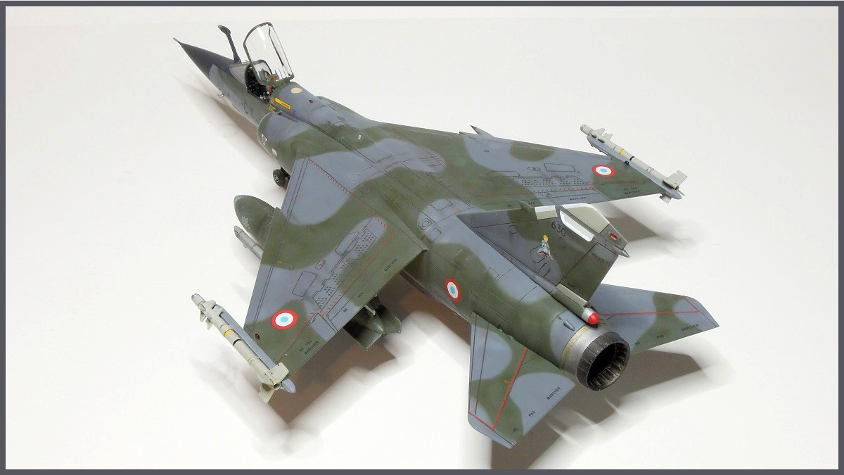 Mirage F-1 CR - Special Hobby - 1/72 - FRANCE 1980 Dscn2514
