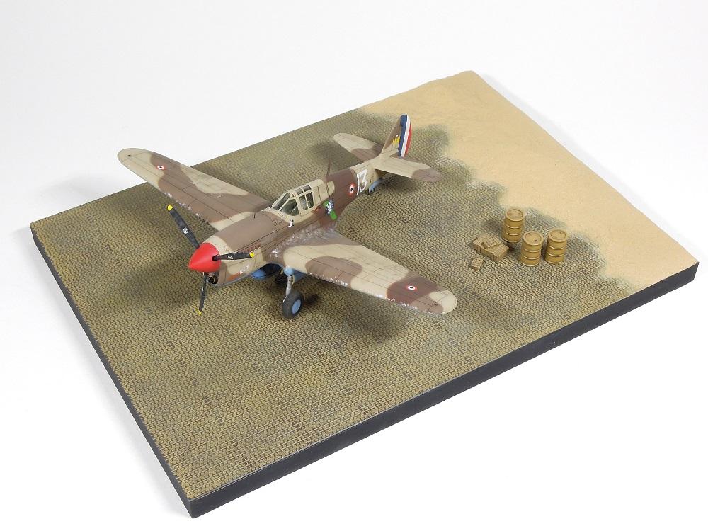 P-40F Special Hobby 1/72 - GC II/5 La Fayette Dscn4610