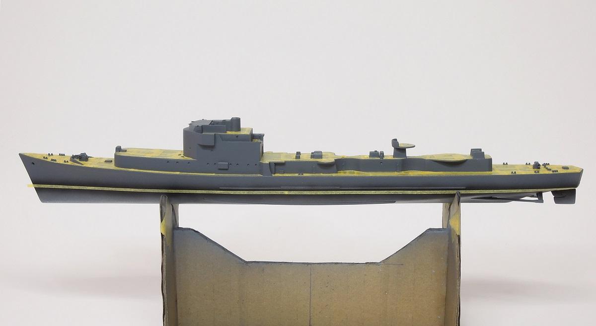 L'ALSACIEN Escorteur-rapide - 1/400 Heller + kit l'Arsenal - Page 3 G516