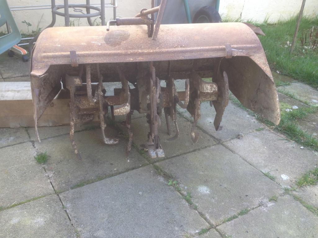 restauration -  Restauration d'un rotovator pp6 Img_1810