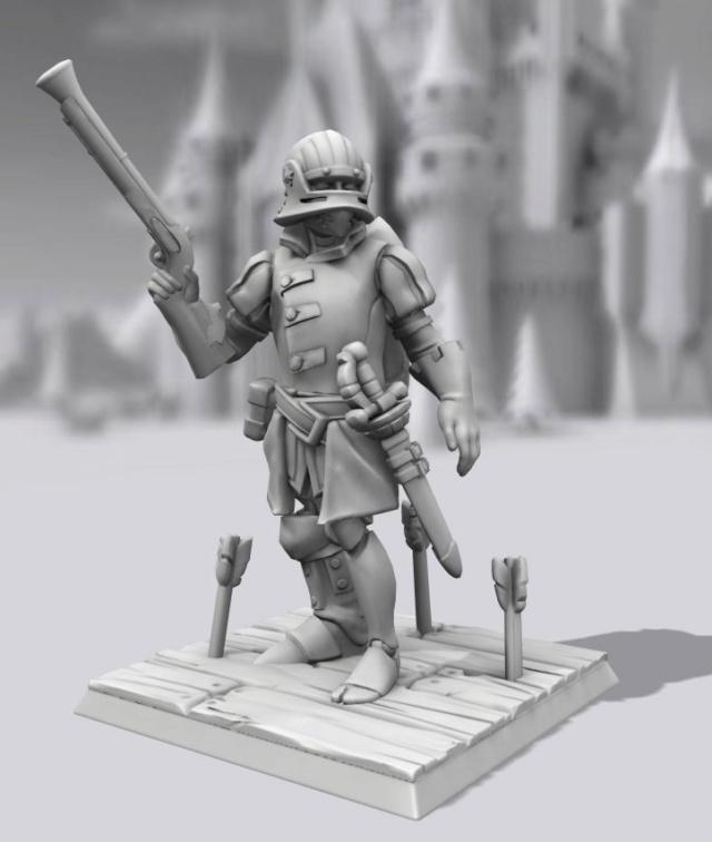 Galerie de Personnages 3D Hero Forge Franzi10