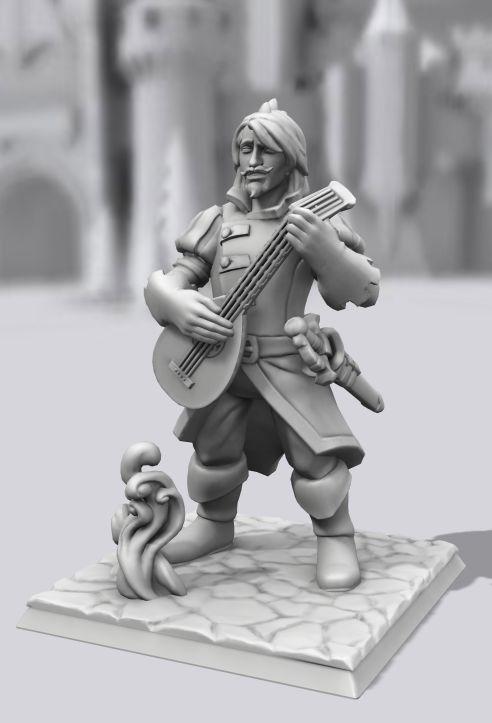 Galerie de Personnages 3D Hero Forge Miguel11
