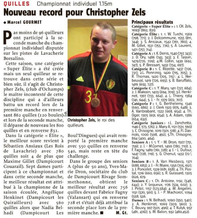 Nouveau record pour Christopher Zels (22.11.18) Nouvea10