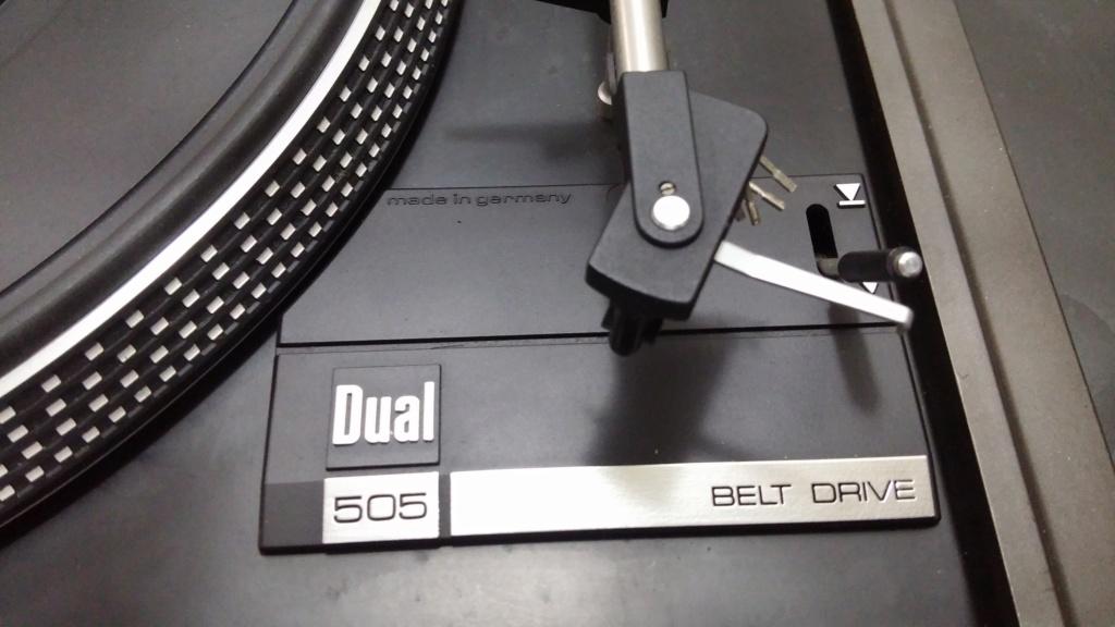 Dual 505 & Akai AP-100C Turntable 20181114