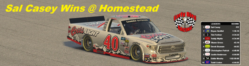 Homestead Winner Casey910