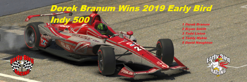 2019 EBR Indy 500 Champion Indy_515