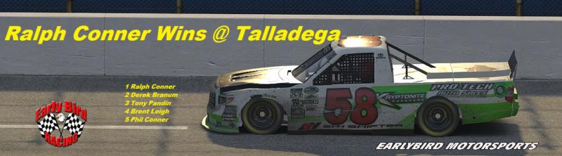 Talladega Winner Snaps144