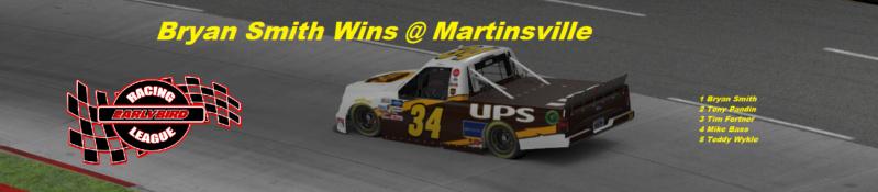 Martinsville Winner Snaps254