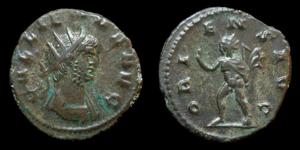 Nouvelles acquisitions (IIIème siècle) Gallie10