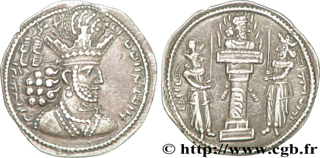 Influence sassanide sur la monnaie romaine ? V36_0210