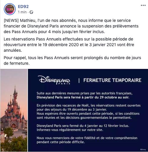 La fermeture de Disneyland Paris pendant la 2ème vague de COVID-19 (jusqu'au 12 février 2021 inclus) - Page 6 Captur26
